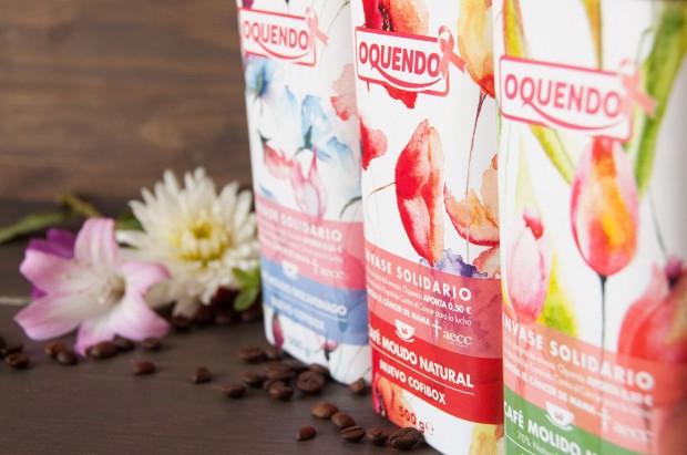 Oquendo estrena packaging solidario edición limitada diseñado por Oloramara