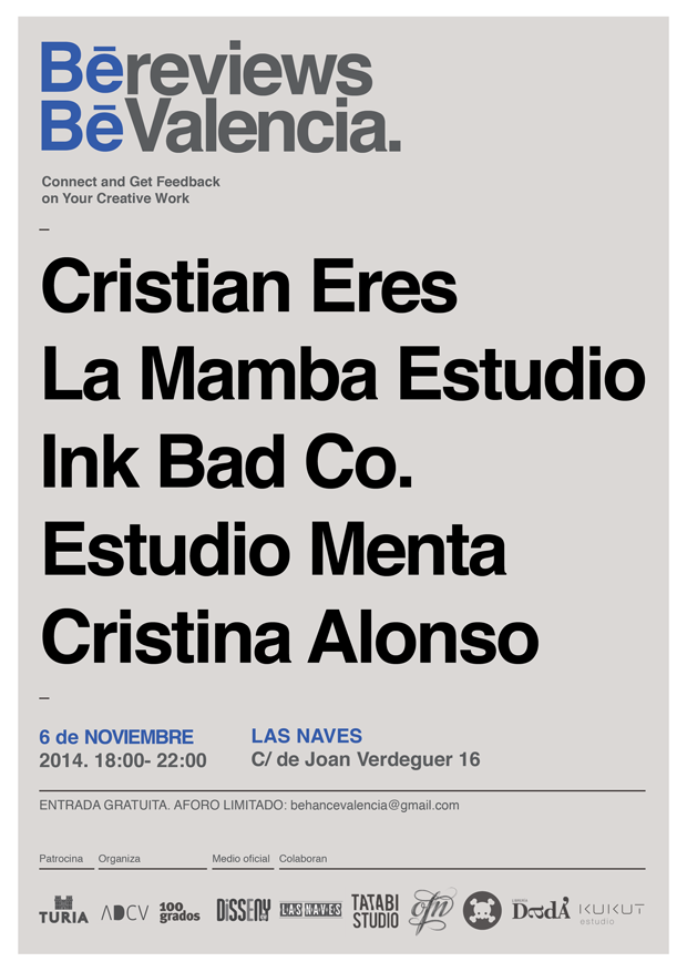 Behance Portfolio Reviews Valencia