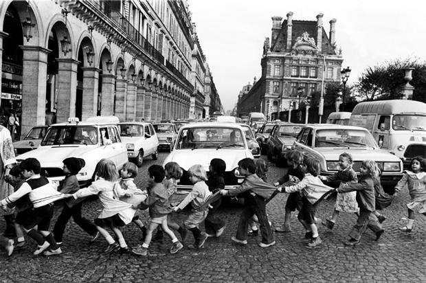 Fotografía de Robert Doisneau –  Los mandiles 1978