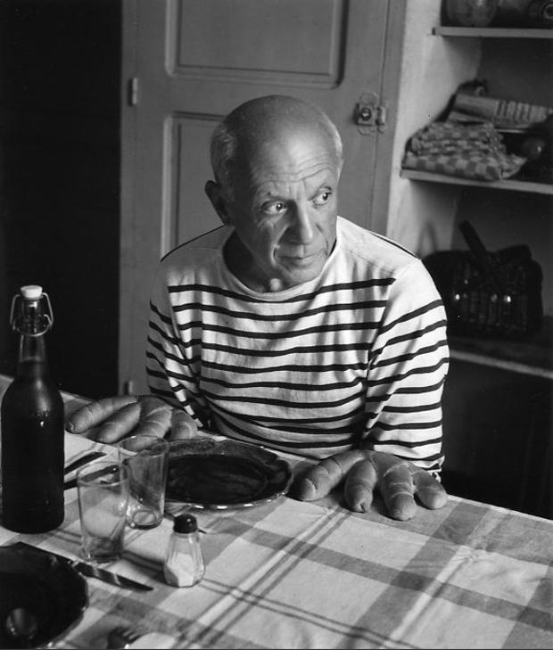 Fotografía de Robert Doisneau –  Los panes de Picasso