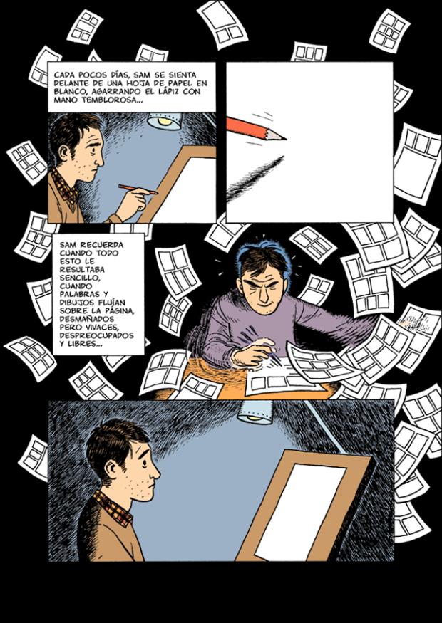 Dylan Horrocks regresa con la novela gráfica más esperada del año –  Sam Zabel y la pluma mágica