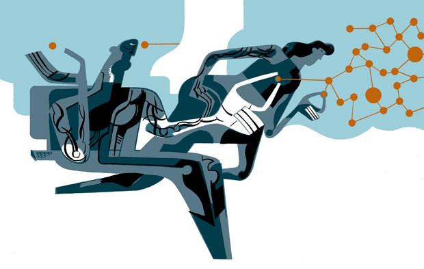Javier Olivares, ilustración GENES