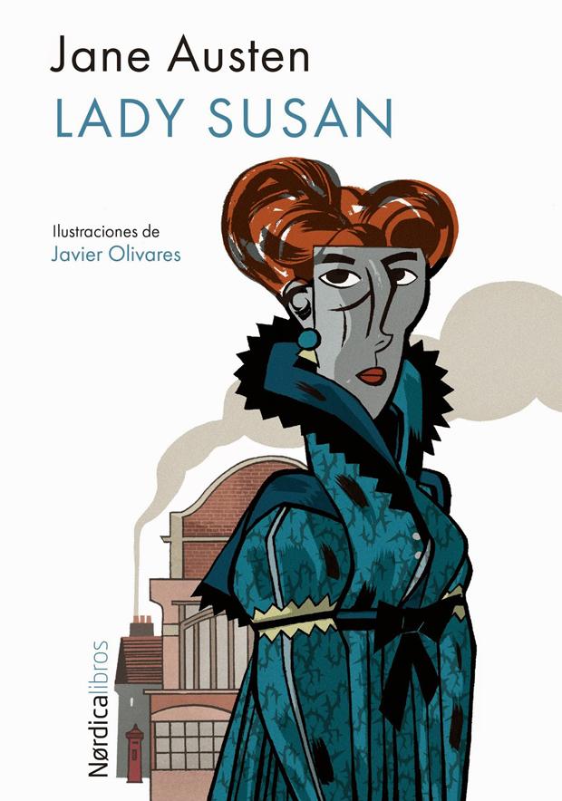 Javier-Olivares, Lady Susan ilustración de Jane Austin