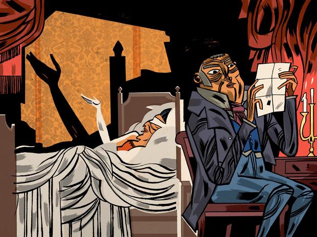 Javier-Olivares, Lady Susan ilustración