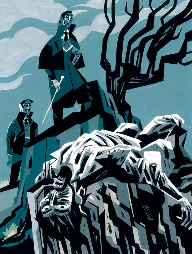 Javier-Olivares, ilustración