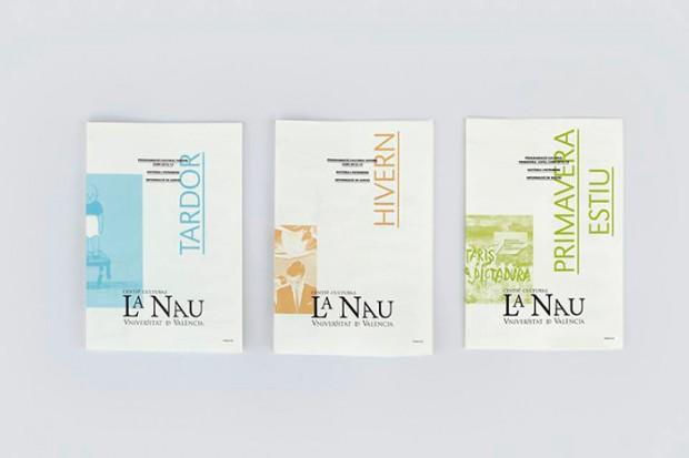 folletos programación trimestral La Nau