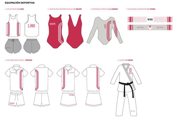 Aires olímpicos en la nueva campaña gráfica de Odosdesign para Actiu