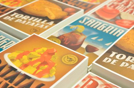 Recipes postcards, recetas tradicionales, pero bien bonitas