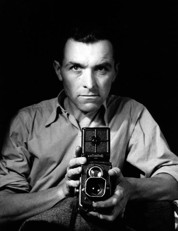 Fotografía de Robert Doisneau autorretrato