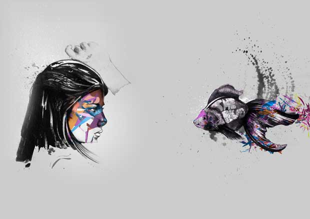 Víctor Murillo ilustración bonobo 2