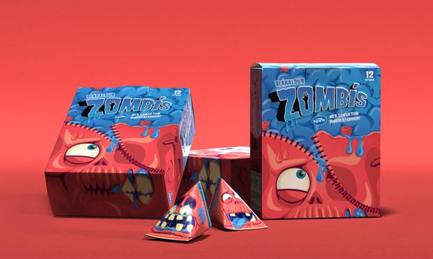 Zombis, un packaging para morirse de risa