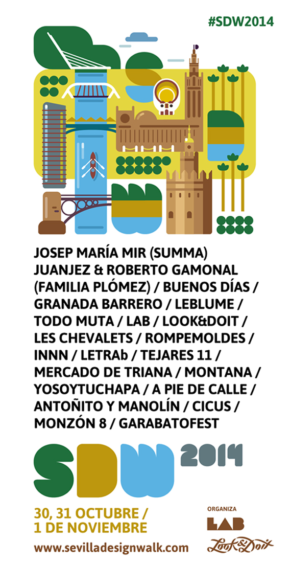 Sevilla Design Walk 2014 – cartel