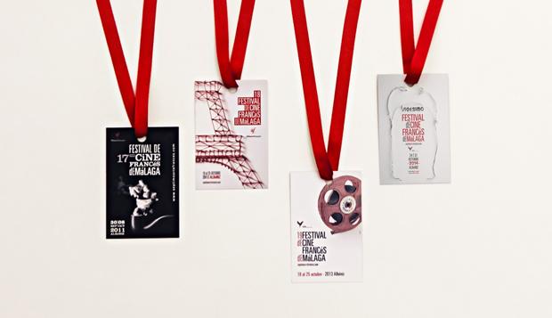 Narita Estudio presenta la gráfica del Festival de Cine Francés de Málaga 2014