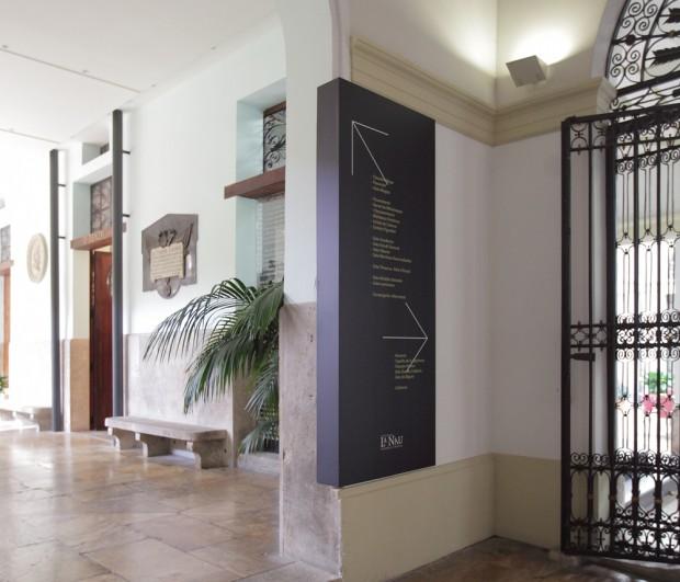 Ibán más Dídac diseñan la Señalética para el Centro Cultural La Nau