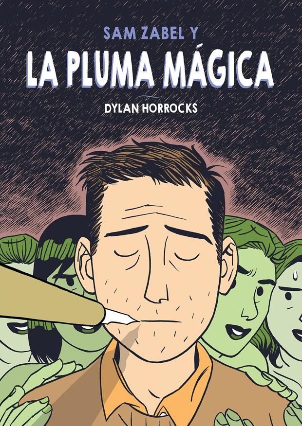 Dylan Horrocks – portada de la novela gráfica Sam Zabel y la pluma mágica – Astiberri