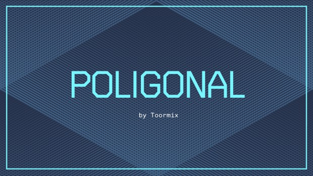 Poligonal, tipografía de Toormix disponible en Hype for Type
