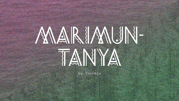 Marimuntanya tipografía de Toormix disponible en Hype for Type