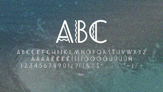 Marimuntanya tipografía de Toormix disponible en Hype for Type