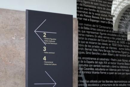 Ibán más Dídac: «La nueva gráfica de La Nau rompe con el acercamiento histórico al edificio»