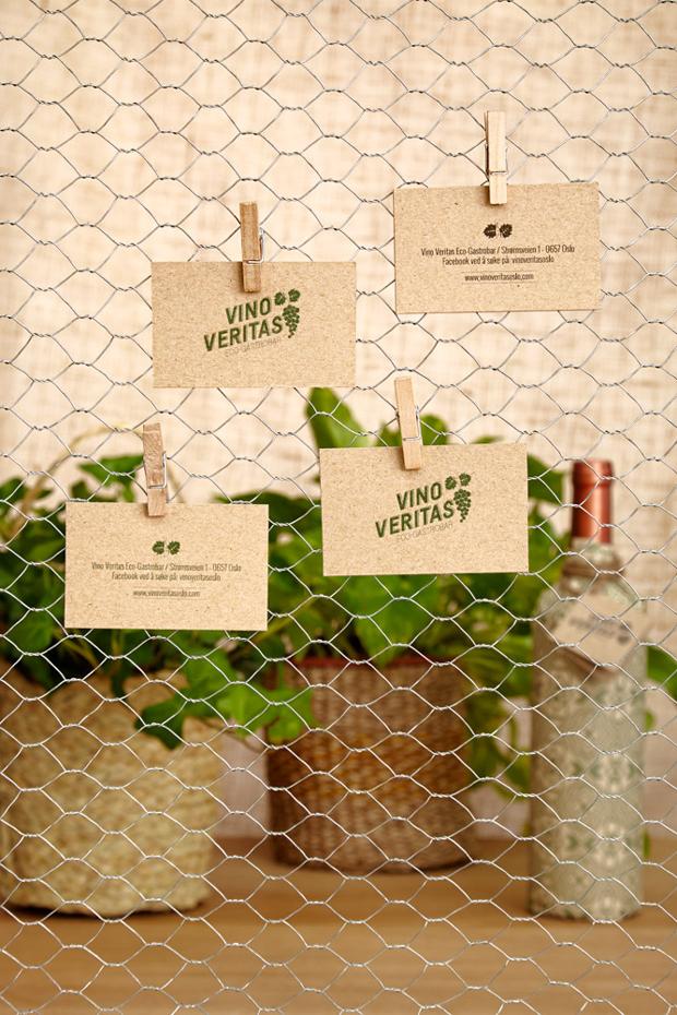VinoVeritas Oslo – identidad gráfica y diseño de interiores de Masquespacio