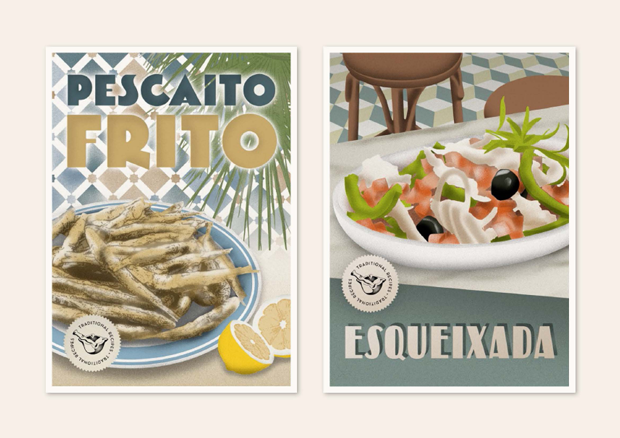 Recipes postcards – recetas ilustradas con inspiración vintage  – Yema.info