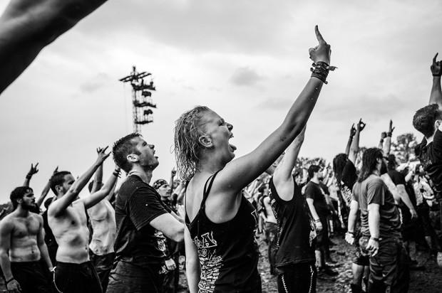 Wacken Open Air festival 2013.The Biggest Heavy Metal Open Air in the world.