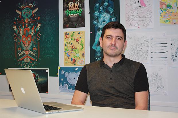 AshleyHewson director ejecutivo de Serif, empresa desarrolladora de Affinity