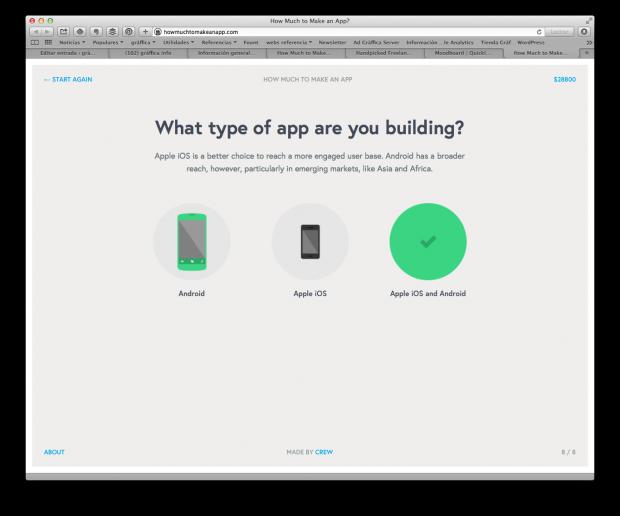 ¿Cuánto vale diseñar una app?