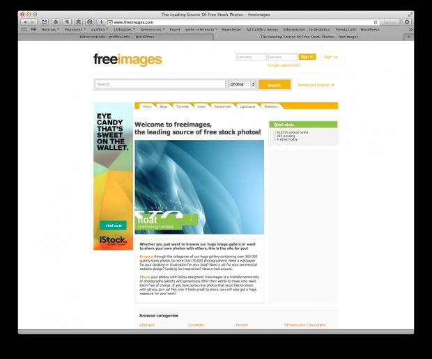 Freeimages, el modo de cazar ventas de iStock