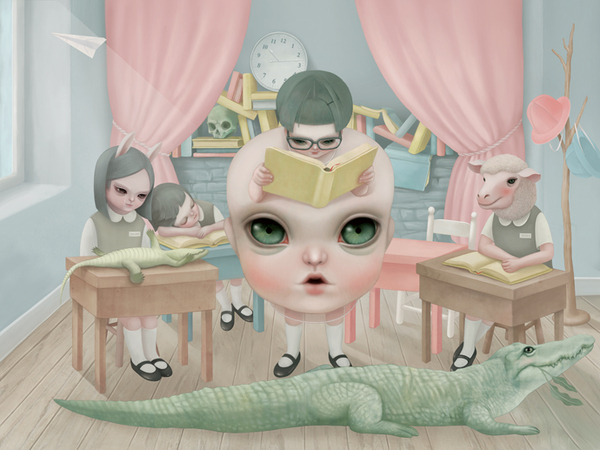Hsiao-Ron Cheng-Little Mama goes to school