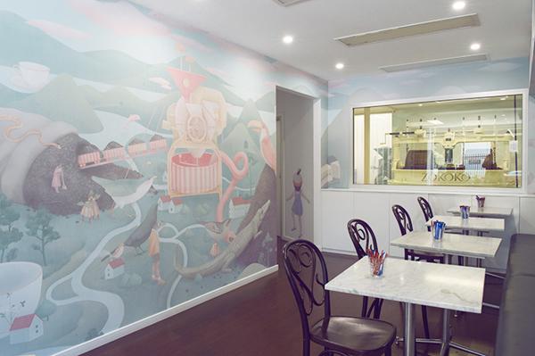 Hsiao-Ron Cheng-Ilustración mural