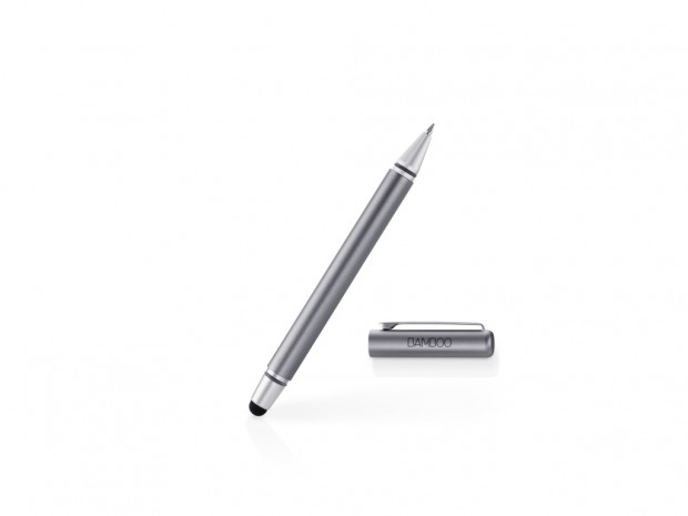 lápices digitales – bamboo stylus duo grey