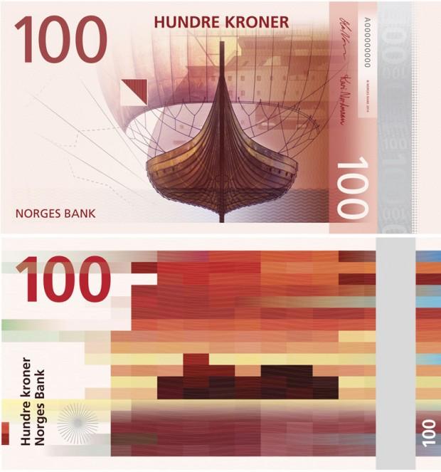 Noruega presenta los billetes más «punks» de la historia