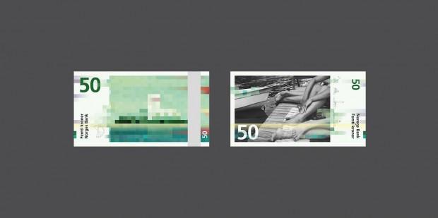 Bank notes Norwegian