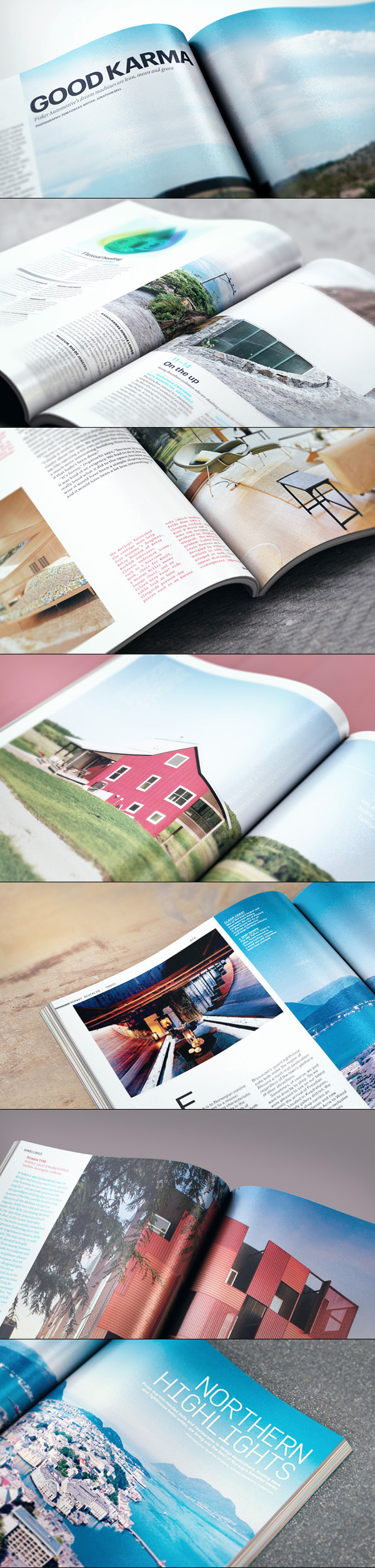 mockup gratuito diseño editorial – interior revista