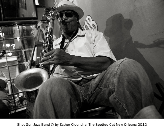Shot Gun Jazz Band, fotografiado por Esther Cidoncha