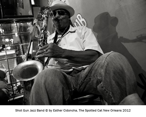 Shot Gun Jazz Band, fotografiado por Esther Cidoncha