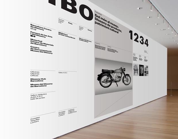 identidad visual del Museo del Diseño de Barcelona