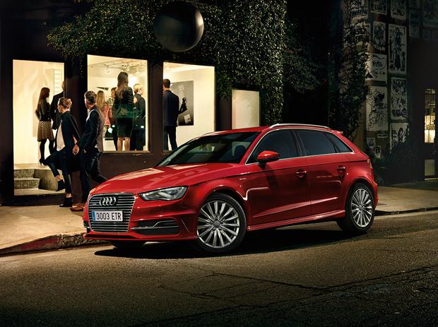 ¿Cómo se diseña la ciudad del futuro? Audi A3 Sportback e-tron HUB