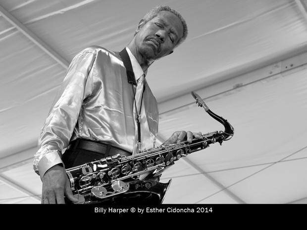 Billy Harper, músico de jazz fotografiado por Esther Cidoncha