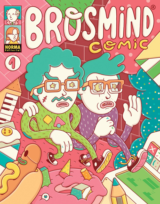 Why, How, What. Cómic Brosmind editado por Norma Editorial