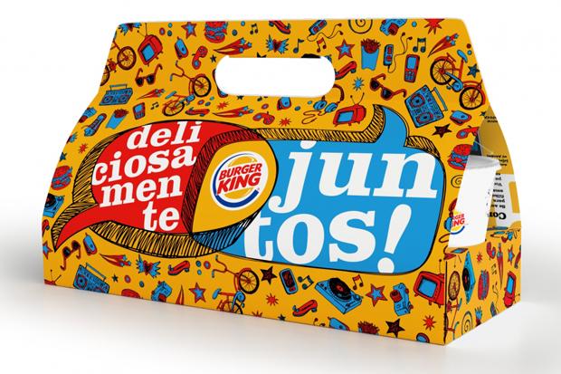 burger king  diseño Gustavo Piqueira