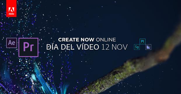 Createnow Online. Tres sesiones online gratuitas sobre Diseño, Web y Vídeo