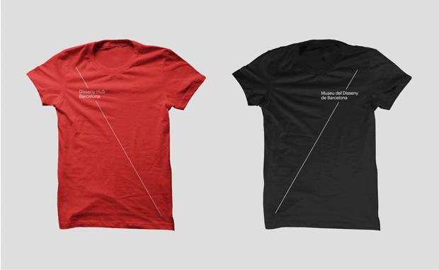 camisetas Museo del Diseño de Barcelona