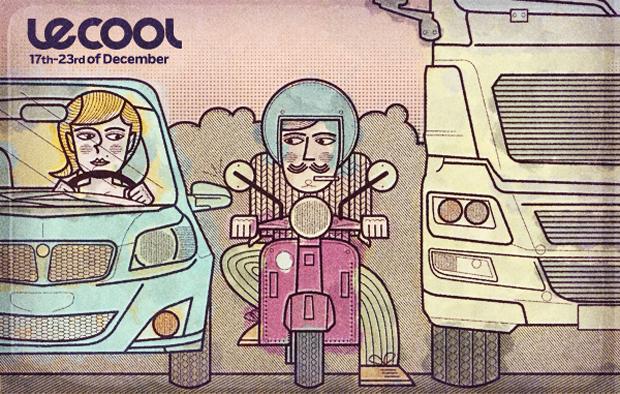 David Pocull – ilustración para Le Cool
