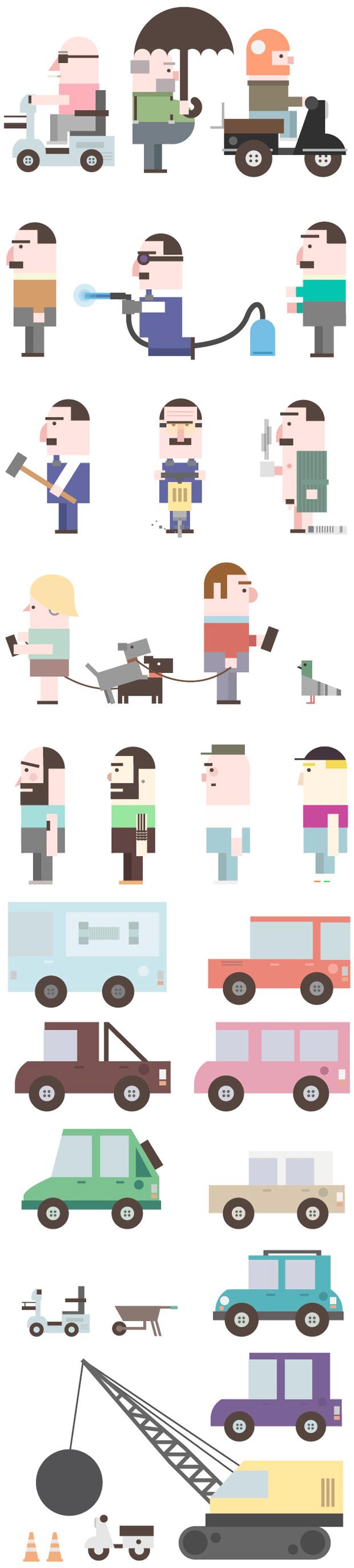 David Pocull - diseño de personajes