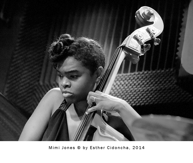 Mimi Jones, artista de jazz fotografiada por Esther Cidoncha