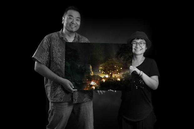 Future Shangri-La pieza creada por Kim Mi-Kyung y el artista Kenichiro Tomiyasu para la Colección TEN fotolia