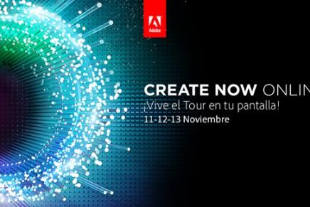 Createnow Online. Sesiones gratuitas online sobre diseño, web y vídeo