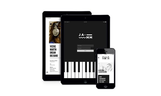 Jamm es un proyecto de identidad gráfica para la Asociación de Músicos de Jazz de Cataluña diseñado por Edu Torres Pérez, estudiante de Grado en Diseño en Universidad de Barcelona. Este PFC ha obtenido una mención especial en los Premios Acento G 2014